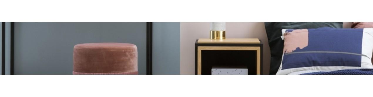 Découvrez nos meubles design et objets de décoration de grandes marques européennes pour votre chambre